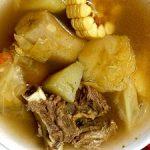 Sopa de res hondureña